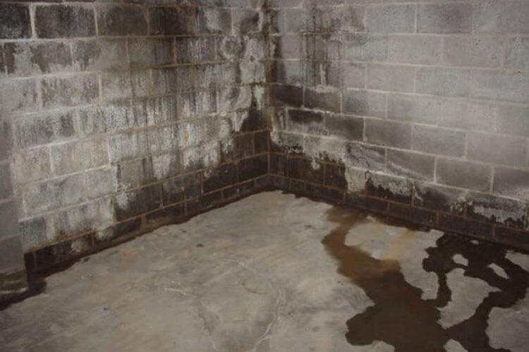 humedades en sótanos por filtración