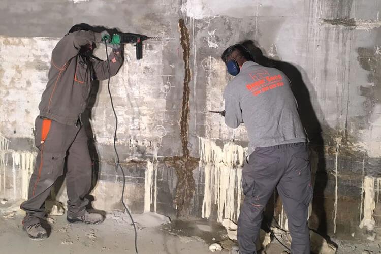 reparación filtraciones agua