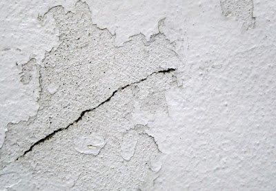 Grietas y fisuras en paredes