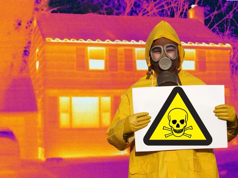 gas toxico radón