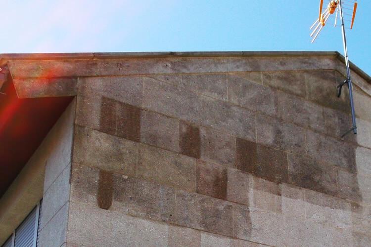 tratamiento humedades fachada
